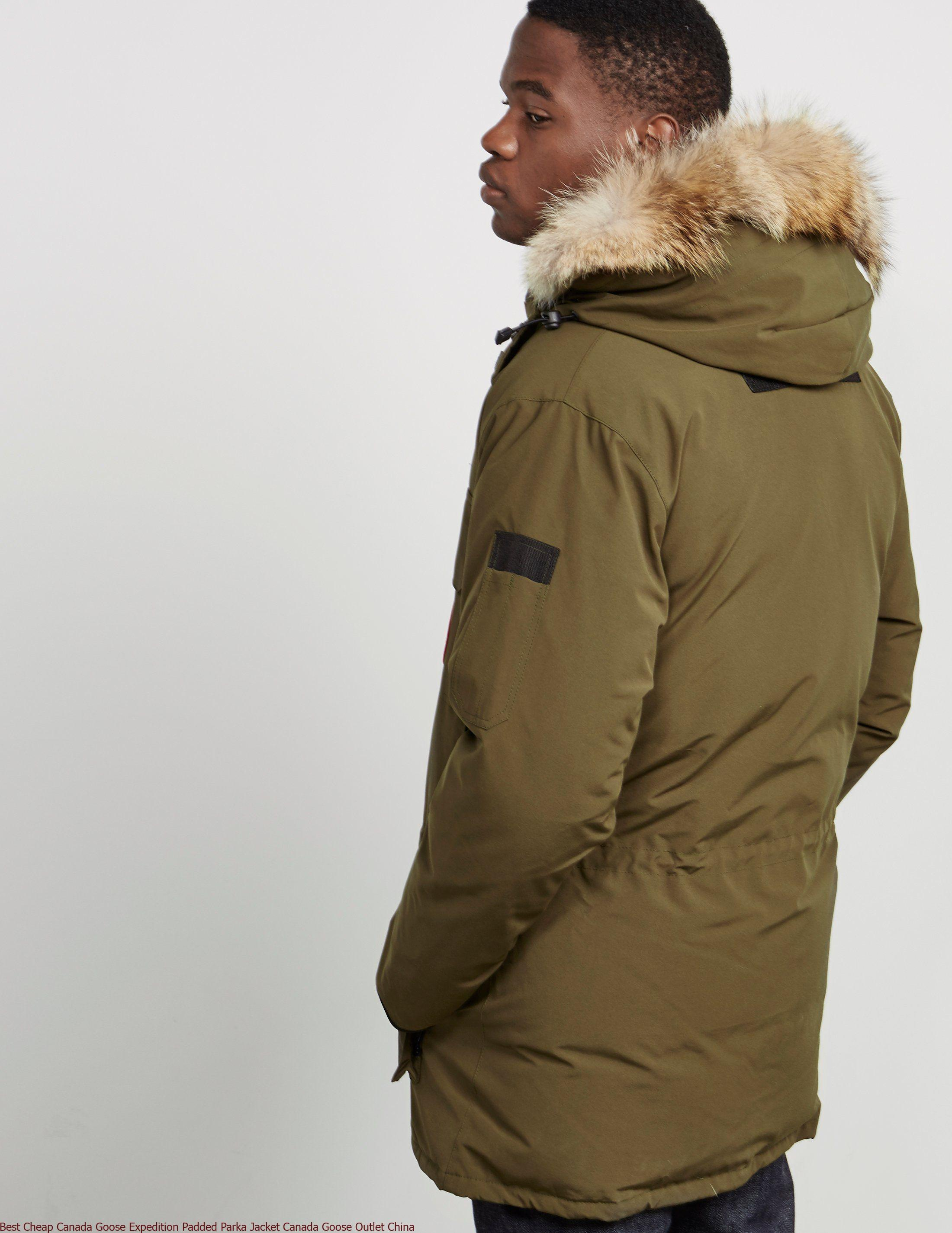 innovative design 93c7b cc8c6 Best Cheap Canada Goose Expedition Padded Parka Jacket Canada Goose Outlet  China